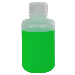 4 oz./125mL Nalgene™ Narrow Mouth LDPE Bottle with 24mm Cap