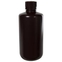 32 oz./1000mL Nalgene™ Amber Narrow Mouth Economy Bottle with 38mm Cap