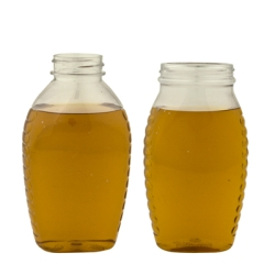Oval PET Honey Jars & Caps