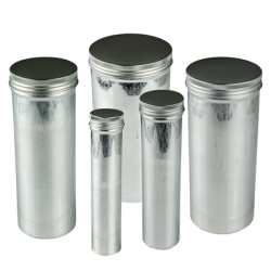 Seamless Screw Cap Aluminum Cans with Caps