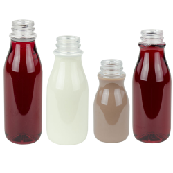 OSD Round PET Beverage Bottles with DBJ Neck