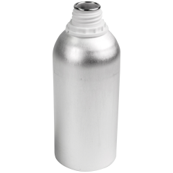625mL Industrial Aluminum Bottle (Cap Sold Separately)