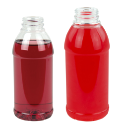 Round Bullet PET Beverage Bottles with DBJ Neck
