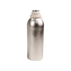 1250mL Industrial Aluminum Bottle Plus 45 Bottle (Cap Sold Separately)