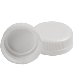 38mm White DBJ HDPE Tamper Evident Screw Cap
