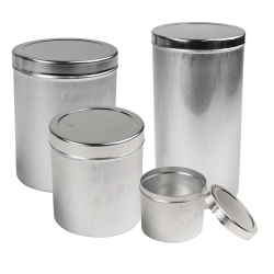 Aluminum Cans with Cover Lids