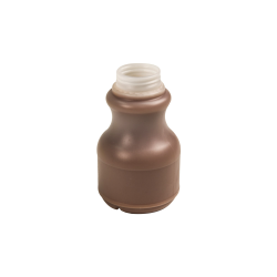 8 oz. Round HDPE Dairy Bottle with 38mm STT/ITT Neck (Cap Sold Separately)