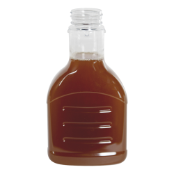 18 oz. Honey/Sauce PET Bottle with 38/400 Neck (Cap Sold Separately)