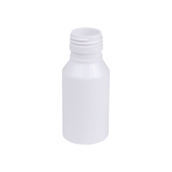 70mL White Pharma Bottle with 28mm Neck  (Cap Sold Separately)