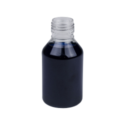 120mL Clear Pharma Bottle with 28mm Neck  (Cap Sold Separately)