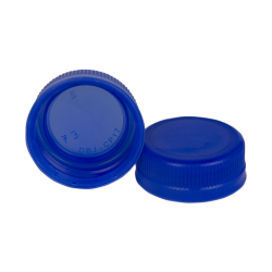 38mm Blue DBJ HDPE Tamper Evident Screw Cap