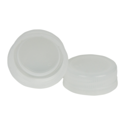 38mm DBJ Natural HDPE Tamper Evident Screw Cap