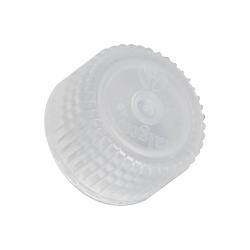 24mm Nalgene™ White Polypropylene Closures - Package of 12