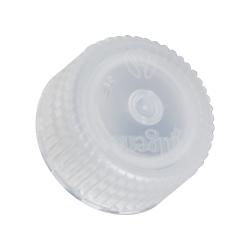 43mm Nalgene™ White Polypropylene Closures - Package of 12