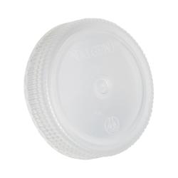 63mm Nalgene™ White Polypropylene Closures - Package of 12