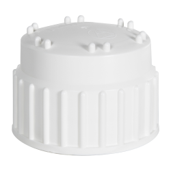 83B Nalgene™ White Polypropylene Closures - Package of 2