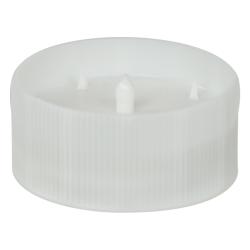38/400 White Revo-Cap with Foil Seal