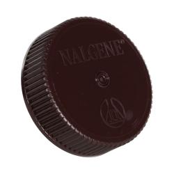 53mm Nalgene™ Amber Polypropylene Closures - Package of 12