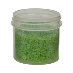 3 oz. Polypropylene Straight Sided Natural Jar with 58/400 Neck (Cap Sold Separately)