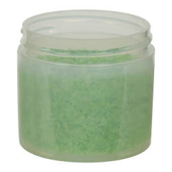 3 oz. Polypropylene Straight Sided Thick Walled Natural Jar with 58/400 Neck (Cap Sold Separately)