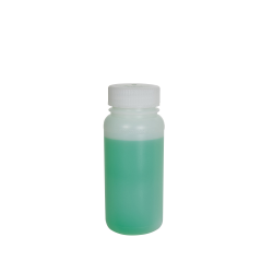 8 oz. Precisionware™ HDPE Wide Mouth Bottle with 45mm Cap