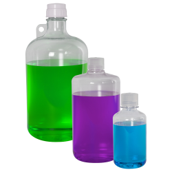 Thermo Scientific™ Nalgene™ Narrow Mouth Polycarbonate Bottles with Caps