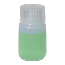 1 oz./30mL Nalgene™ LDPE Wide Mouth Bottle with 28mm Cap