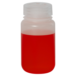 4 oz./125mL Nalgene™ LDPE Wide Mouth Bottle with 38mm Cap