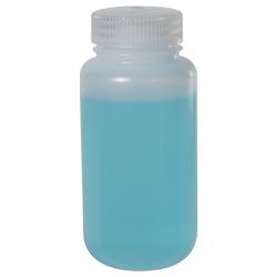8 oz./250mL Nalgene™ LDPE Wide Mouth Bottle with 43mm Cap
