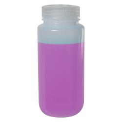 16 oz./500mL Nalgene™ LDPE Wide Mouth Bottle with 53mm Cap