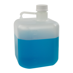 5 Liter PP Square Carboy ONLY 40mm Neck
