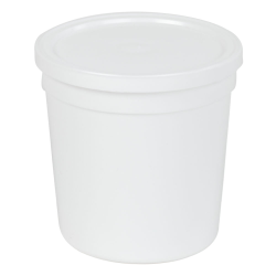 16 oz. White Specimen Containers