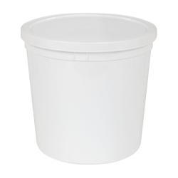 165 oz. White Specimen Containers