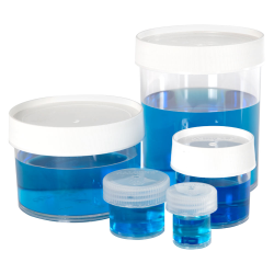 Thermo Scientific™ Nalgene™ Straight-Side Polycarbonate Jars with Caps