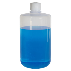 64 oz./2000mL Nalgene™ Teflon® FEP Narrow Mouth Bottle with 38/430 Cap