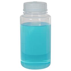 8 oz./250mL Nalgene™ FEP Wide Mouth Teflon®* Resin Bottle with 43mm Cap