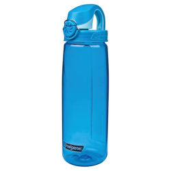 24 oz. Blue Nalgene® On The Fly Tritan Water Bottle with Blue Cap