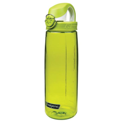 24 oz. Green Nalgene® On The Fly Tritan Water Bottle with Green & White Cap