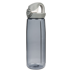 24 oz. Gray Nalgene® On The Fly Tritan Water Bottle with Gray Cap