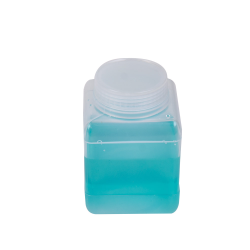 500mL Wide Mouth Polypropylene Square Storage Bottle with Cap
