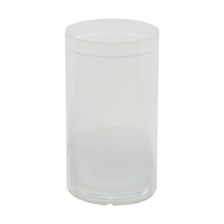 15mL Natural Mini Airless Bottle (Pump Sold Separately)