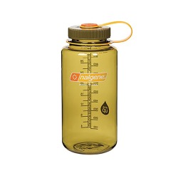 32 oz. Olive Wide Mouth Nalgene® Everyday™ Tritan™ Bottles