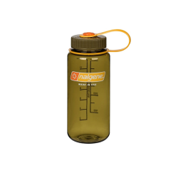 16 oz. Olive Wide Mouth Nalgene® Everyday™ Tritan™ Bottles