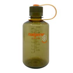 16 oz. Olive Narrow Mouth Nalgene® Sustain Bottle