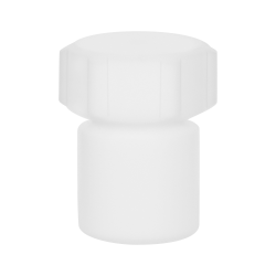 1mL Air Tight PTFE Bottle with Screw Closure Lid