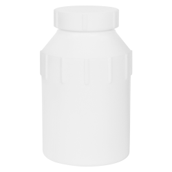 500mL Air Tight PTFE Bottle with Screw Closure Lid