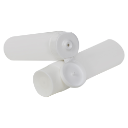 White MDPE Lotion Tubes with Caps