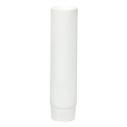2 oz. White MDPE Lotion Tube with Flat Cap