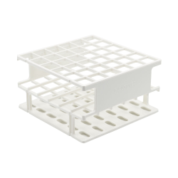 White 16mm Tube Size, 126 x 126 x 68, Array is 6 x 6 Nalgene™ Uniwire™ Half-Rack
