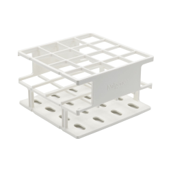 White 30 mm Tube Size  109 x 109x 84Array is 3 x 3 Nalgene™ Uniwire™ Half-Rack